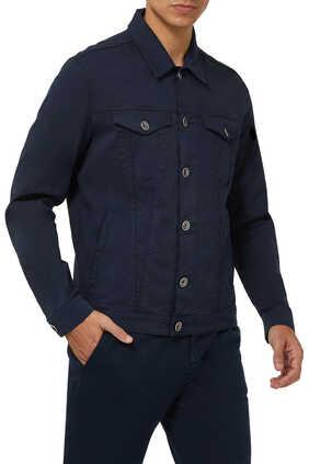 Stretch Cotton Denim Shirt