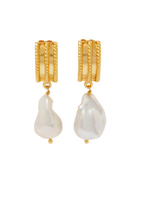 Chloe Pearl Earrings