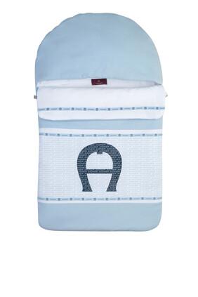 Logo Print Sleeping Bag