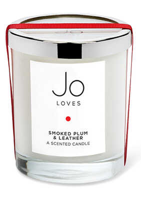 Smoked Plum and Leather Candle