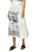 Archive Print Skirt