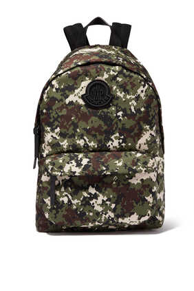 Camouflage Logo Backpack