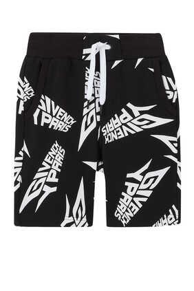 Logo Jersey Bermuda Shorts