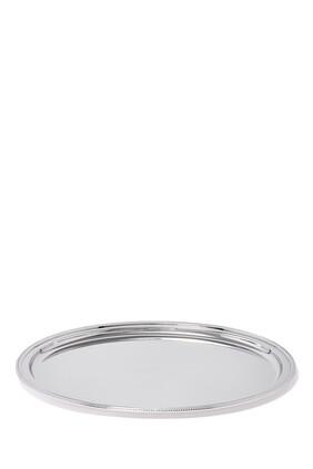 Oval Perles Tray