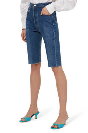 The Twin Denim Shorts