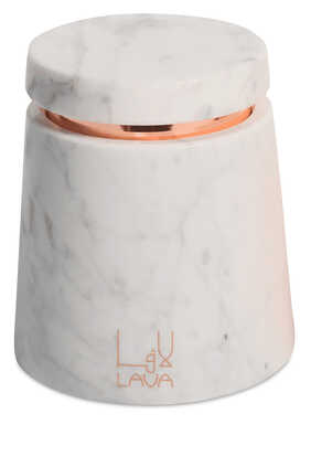 Oud Rose  Marble Candle Holder