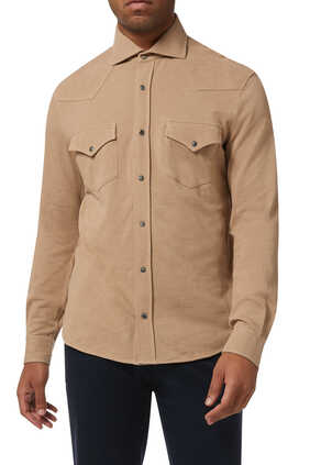 Piquè Western Leisure Shirt