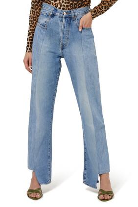The Twin Boyfriend Denim Jeans