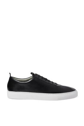 Leather Tennis Sneakers