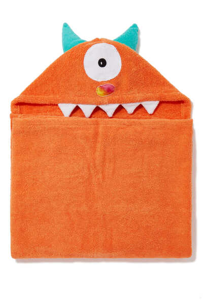 One-Eyed Monster Hooded Towel